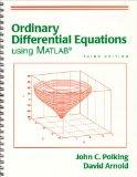 Ordinary Differential Equations Using MATLAB (3rd Edition)
