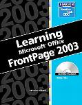 Learning Microsoft Frontpage 2003