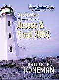 Access & Excel 2003 Advanced Microsoft Office