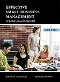 Effective Small Business Management An Entrepreneurial Approach