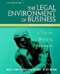 Legal Environment of Business A Critical Thinking Approach