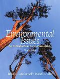 Environmental Issues An Introduction to Sustainability
