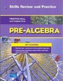 PRENTICE HALL MATH PRE-ALGEBRA SKILLS AND CONCEPTS REVIEW BLACKLINE     MASTERS 2007C