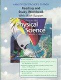 Reading and Study Workbook with Math Support [Annotated Teacher's Edition] for Prentice Hall's Physical Science