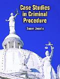 Case Studies In Criminal Procedures