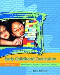 Early Childhood Curriculum Developmental Bases For Learning And Teaching