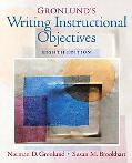 Gronlund's Writing Instructional Objectives