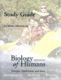 Biology of Humans: Concepts Applications, and Issues (Study Guide)