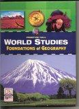 World Studies Foundations Of Geography Tools And Concepts