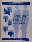 Instructor's Manual Consumer Behavior 9th Edition