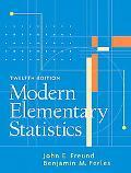 Modern Elementary Statistics (12th Edition)