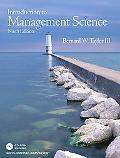 Introduction to Management Science, 9th Edition (Book & CD-ROM)