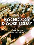 Psychology And Work Today An Introduction to Industrial and Organizational Psychol