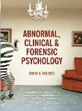 Abnormal, Clinical and Forensic Psychology