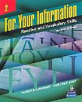 For Your Information 3