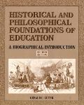 Historical+philosoph.found.of Education