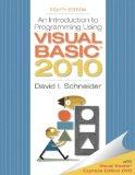 Introduction to Programming Using Visual Basic 2010 (8th Edition) (Pearson Custom Computer S...