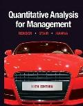 Quantitative Analysis for Management (11th Edition)