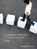 Using Basic Statistics in the Social Sciences