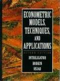 Econometric Models, Techniques, and Applications