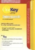 OneKey Blackboard with MyPhysicalAssessmentLab, Student Access Kit, Health & Physical Assess...