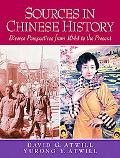 Sources in Chinese History: Diverse Perspectives from 1644 to the