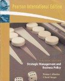 International Edition of Strategic Management and Business Policy (11th Edition)