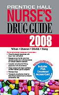 Prentice Hall Nurse's Drug Guide 2008