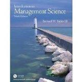 PEARSON INTERNATIONAL EDITION: Introduction to Management Science, 9th Edition with CD-ROM