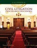 California Civil Litigation (2nd Edition)