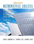 Introductory Mathematical Analysis for Business, Economics and the Life and Social Sciences ...