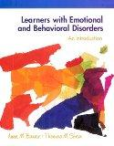Learning With Emotional and Behavioral Disorders An Introduction