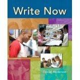 Write Now ISBN9780132415477 (EXAMINATION COPY)