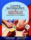 Learning Mathematics in Elementary and Middle Schools: A Learner-Center