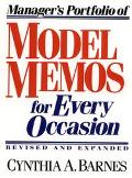 Manager's Portfolio of Model Memos for Occasion