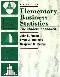 Elementary Business Statistics