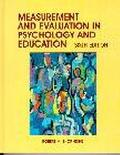 Measurement and Evaluation in Psychology and Education