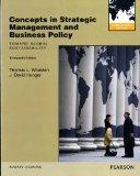 Concepts in Strategic Management and Business Policy: Toward Global Sustainability: Internat...