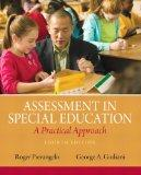 Assessment in Special Education : A Practical Approach