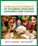 An Introduction to Student Involved Assessment for Learning (Instructor's Edition), sixth ed...