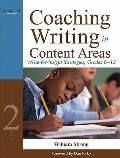 Coaching Writing in Content Areas : Write-for-Insight Strategies, Grades 6-12