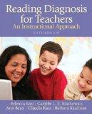 Reading Diagnoses for Teachers: An Instructional Approach