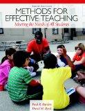 Methods for Effective Teaching : Meeting the Needs of All Students
