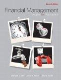 Financial Management: Principles and Applications with MyFinanc