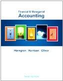 Financial & Managerial Accounting and MyAccountingLab with Pearson eText Student Access Code...