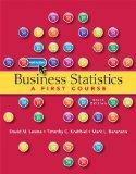 Business Statistics (6th Edition)