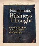 Foundations of Business Thought - Instructor's Review Copy - 1st Edition