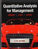 Quantitative Analysis for Management & POM-QM for Windows v. 3 (11th Edition)
