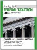 Prentice Hall's Federal Taxation 2013 Comprehensive