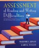 Assessment of Reading and Writing Difficulties : An Interactive Approach Plus MyEducationLab with Pearson EText